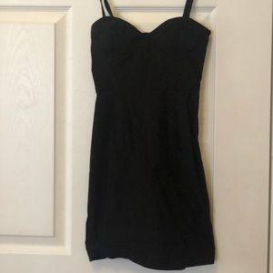 Fashion nova xs Corset black tight dress